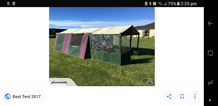 great outdoors manor 2 room tent  sc 1 st  Gumtree & Tent Great outdoors