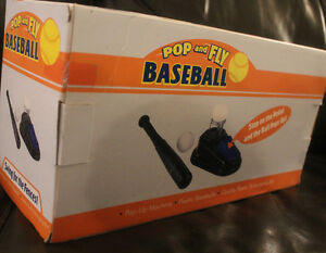 pop up baseball machine