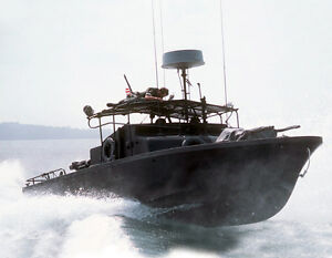 Pbr Patrol Boat River Mekong Delta Vietnam Usn Navy Ship Print