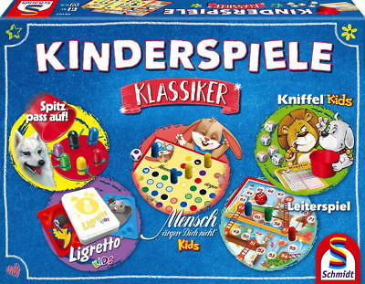 rspiel Spielesammlung Kinderspiele Klassiker 49189 (Kinder Spiele-kinder Spiele)