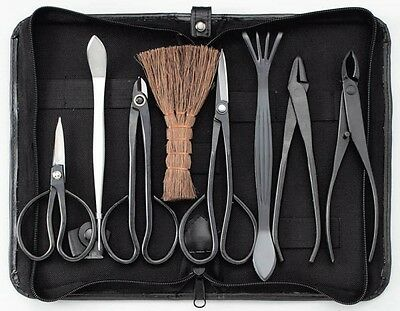 Kikuwa/Japanese Bonsai tools 8pcs set/High quality New Japan EMS FreenShipping