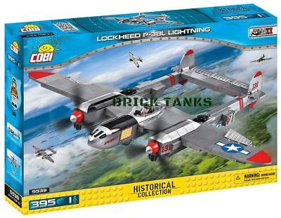 COBI BLOCKS LOCKHEED P 38 LIGHTNING AMERICAN FIGHTER SMALL ARMY WWII 5539 for sale  Wellington