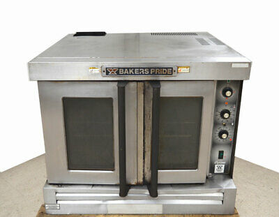Bakers Pride Cyclone Convection Gas Oven 14-hp Fan Motor Racks Temp150f-550f