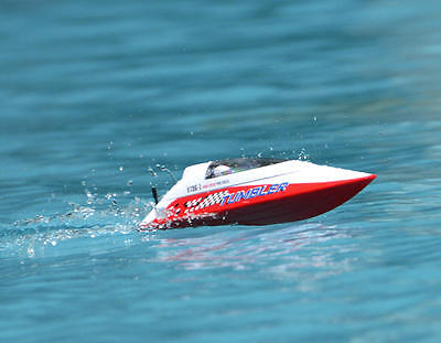 US Stock Fast Free Volantex RC Racing Boat Tumbler ABS Hull RTR Model Toy Red