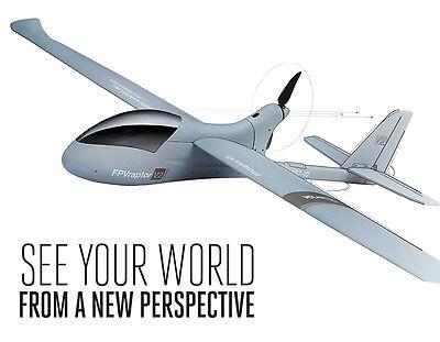 "ARF Electric Rc Plane Raptor V2 PNP 78"" for Long Range FPV w/motor+servos+ESC40"