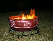 Outdoor Wood Fire Pit Garden Patio Heater Round Terracotta Pot Fairy Meadow Wollongong Area Preview