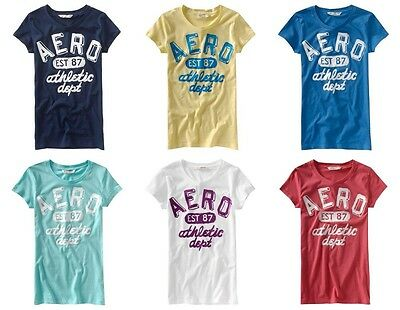 Aeropostale Womans Lot Of 25 T-shirts Size Small Wholesale