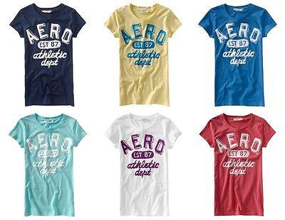 Aeropostale Womans Lot Of 25 T-shirts Size Medium Wholesale
