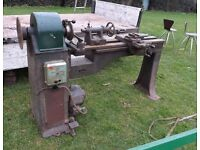SAGAR 240 VOLT WOOD TURNING LATHE WOODTURNING MACHINE TOOL BEDFORD LOCATION