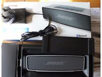 Bose Soundlink Mini Rechargeable Bluetooth Speaker - in box with PSU+Charger+tough case Cost £160.00