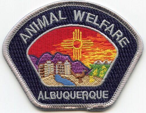 ALBUQUERQUE NEW MEXICO NM ANIMAL WELFARE ANIMAL CONTROL small police PATCH