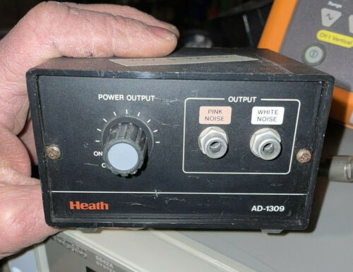 TESTED WHITE & PINK NOISE GENERATOR HEATH AD1309 OSCILLOSCOPE AUDIO