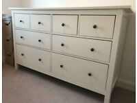 **FREE DELIVERY** IKEA HEMNES CHEST OF 8 DRAWERS