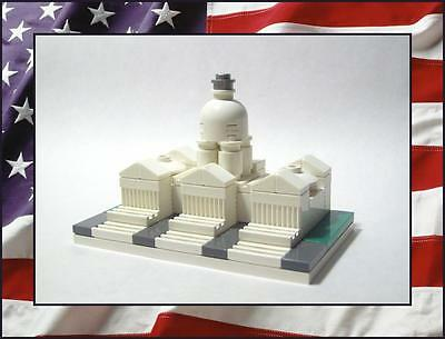 New  Lego United States Capitol City Building  Mini 2  X 3   59 Total Pieces