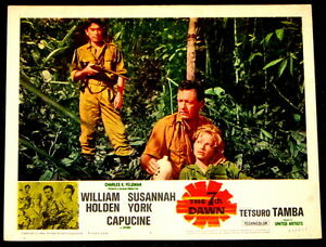 MOVIE POSTER: The 7th Dawn William Holden 1964