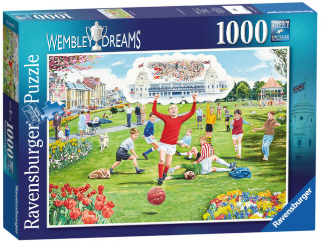 WEMBLEY DREAMS 100 PIECE FOOTBALL JIGSAW PUZZLE RAVENSBURGER