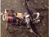 Assorted fishing reels