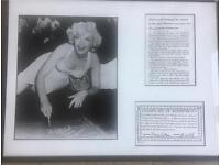Marilyn Monroe print from original negative