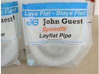 JG Speedfit 15mm layflat pipe 100m rolls - (3 available)