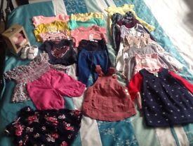 6/9 MONTHS GILS CLOTHS