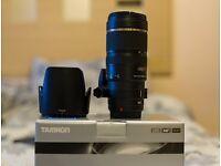 Canon Fit Tamron 70-200 f2.8 DI VC USD
