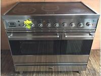 Refurbished Britannia Sie9tss electric ceramic top range cooker-3 months guarantee!