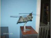Corgi Model Aircraft. 1:72 Chinook HC 1. ZA718 of 18 Sqn (Falklands War veteran)