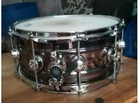 Natel Beaded 14 x 6.5 steel snare drum