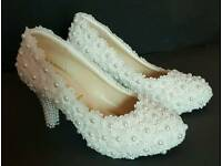 Bridal Off white shoes