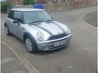 2006 plate MINI Hatch 1.6 One 3dr