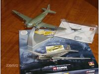 Corgi Model Aircraft, 1:144 Douglas C-47A Dakota C.3 of the BBMF (Model No 47106)
