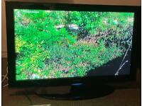 "Samsung 42"" tv freeview scart & hdmi can deliver."