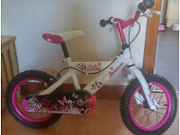 Girls Bike 3to5 yrs