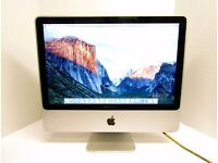"Apple iMac 20"" + KB & Mouse - IN GREAT CONDITION - 2.4ghz + 4GB + 320GB + EL CAPITAN - ONLY £250 ono"