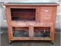 • TWO TIER RABBIT HUTCH HEIGHT