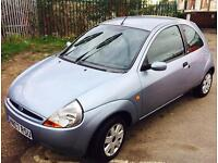 FORD KA 2007 1.3 PETROL AIRCON NEW MOT LOW MILEAGE