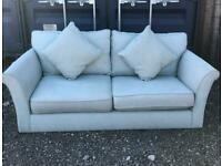 2 seater fabric sofa very good condition delivery available
