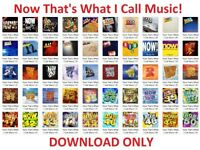 Now That's What I Call Music! 1, 2, 3, 4, 5, 6, 7, 8, 9, 10, 11, 12, 13, 14, 15, 16, 17 CD Job Lot