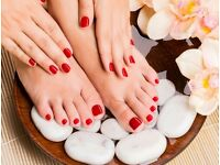 Manicure & Pedicure Treatments MOBILE SERVICE AVAILABLE**