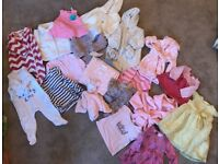 Various Baby Clothes 0-12 months