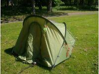 world challenge lattitude 2 man tent.
