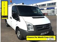 Ford Transit 2.2 300, 1 Owner - Direct From BT, Full Service History, 1YR MOT, Warranty,106K Miles
