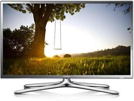 "Samsung 40"" chrome smart LED tv wi-fi enabled apps YouTube Netflix Free Delivery"