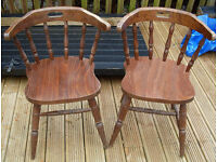 SOLID WOODEN TRADITIONAL PUB CHAIRS - VARl0USSTYLES: MICROPUB, BISTRO, CLUB, SHED HOME BAR MAN CAVE