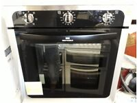 newworld built in intergrated single fan assisted oven unused graded new