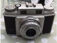 AGFA SUPER SILETTE CAMERA WITH LEATHER CASE