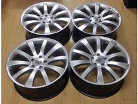 "20"" alloy wheels vw t5 t6 Range Rover BMW X5 5x120"