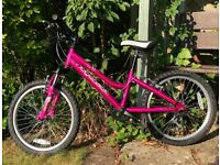 Ridgeback MX20 Melody Children's Bike, pink, in good condition