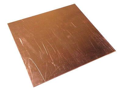 Copper Sheet Plate .125 18 X 12 X 24