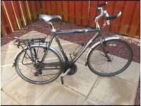 Hybrid bike by TREK